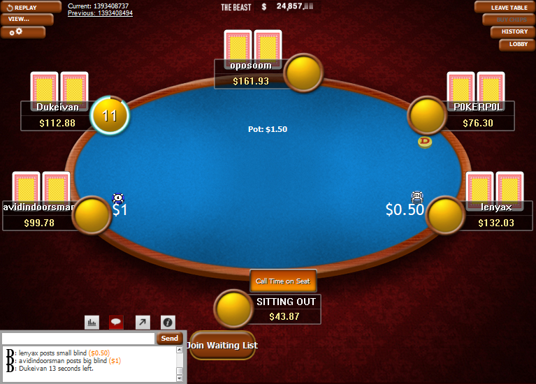 PokerStars Clone Classic for WPN 10