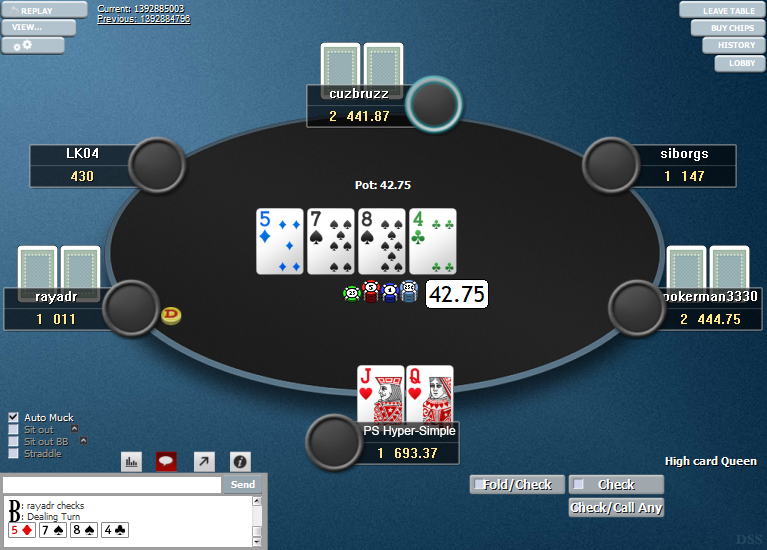 PokerStars Clone Hyper-Simple for WPN 02