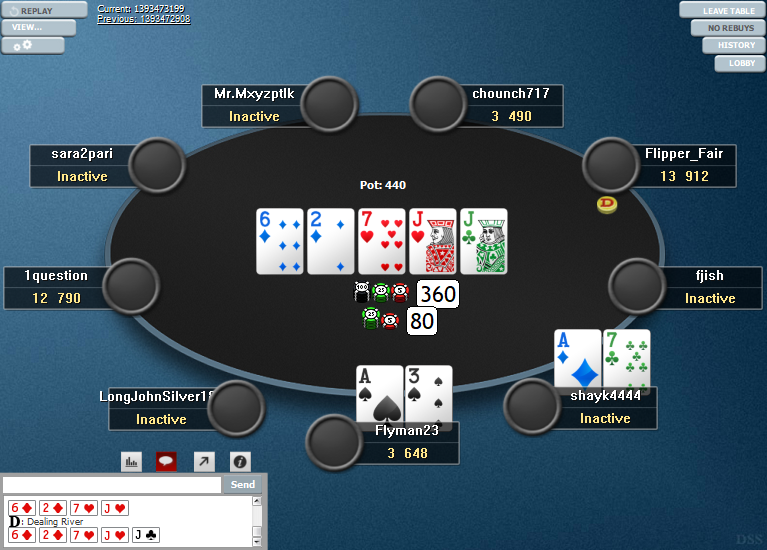 PokerStars Clone Hyper-Simple for WPN 05