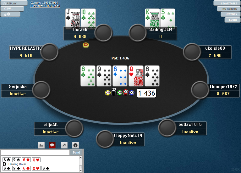 PokerStars Clone Hyper-Simple for WPN 06