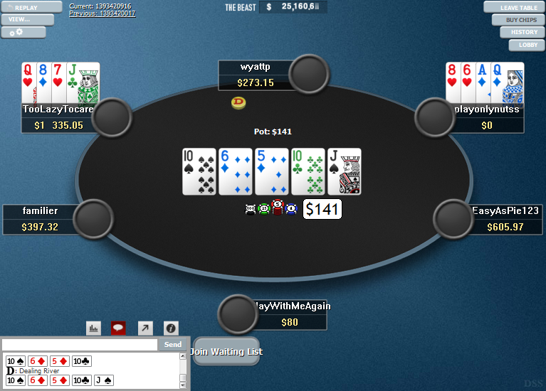 PokerStars Clone Hyper-Simple for WPN 08