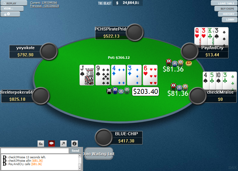 PokerStars Clone Hyper-Simple for WPN 09