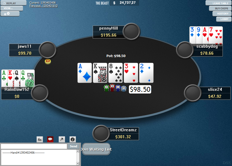 PokerStars Clone Hyper-Simple for WPN 10