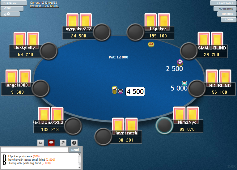 PokerStars Clone Hyper-Simple for WPN 12