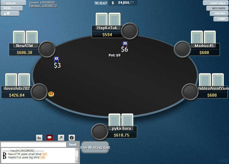 PokerStars Clone Hyper-Simple for WPN 13