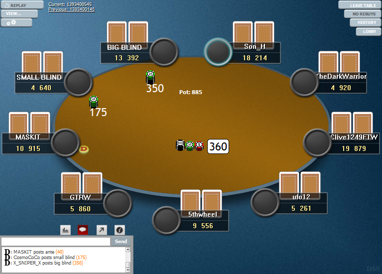 PokerStars Clone Hyper-Simple for WPN 15