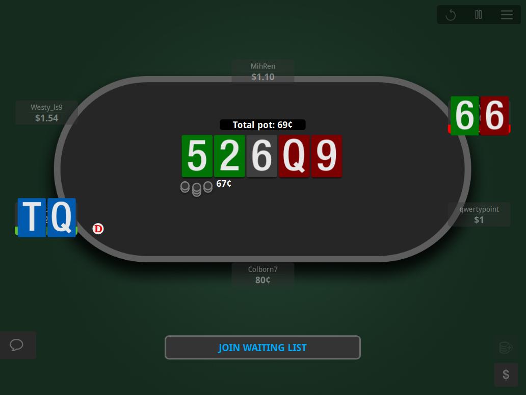 888 GTO V.2 Table Theme 05 Showdown