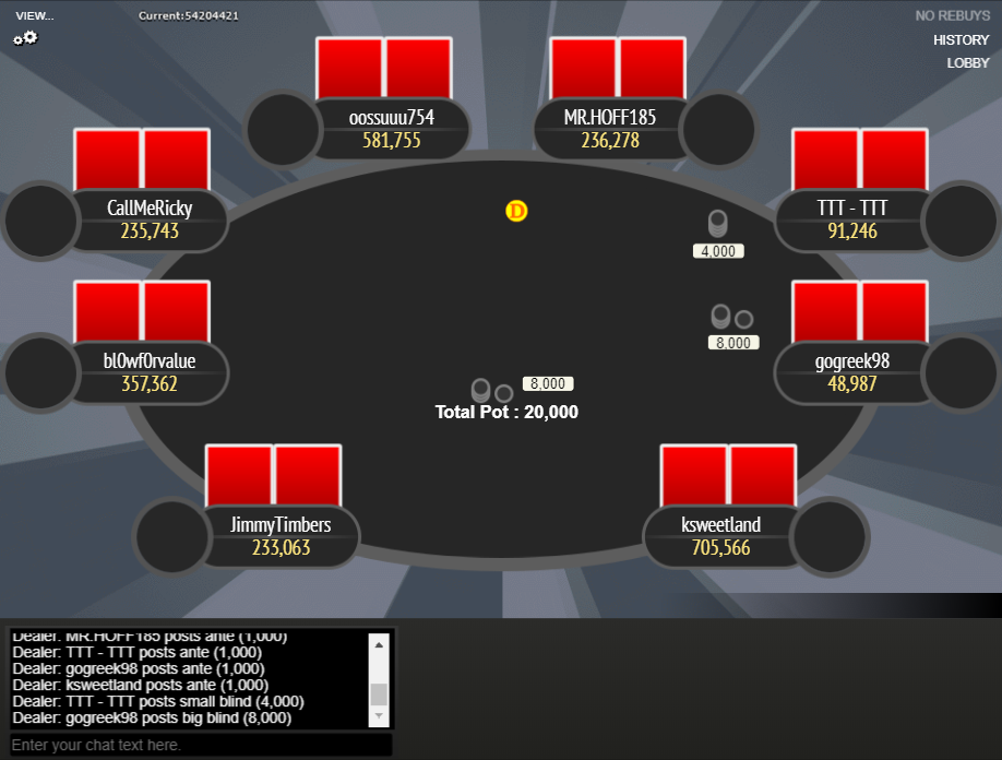 GTO Theme for WPN 03 Final Table