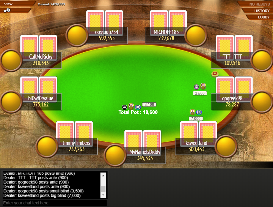 PS Clone Classic 02 Final Table