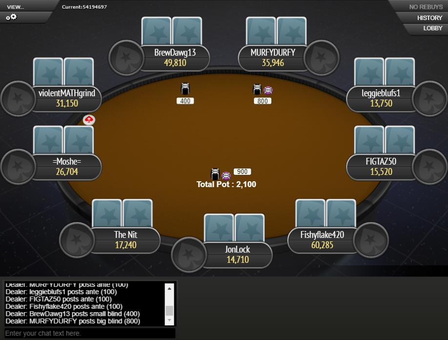 PokerStars Clone Mercury for WPN 07