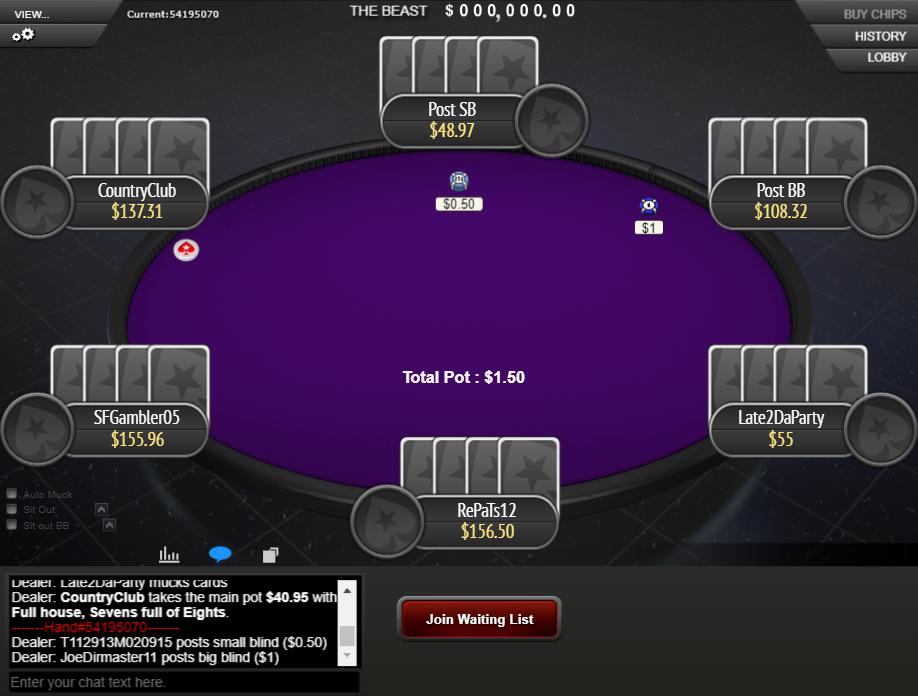 PokerStars Clone Mercury for WPN 08
