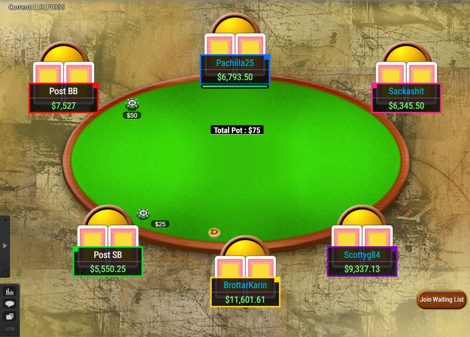 PokerStars Clone Classic for WPN Colored Notes