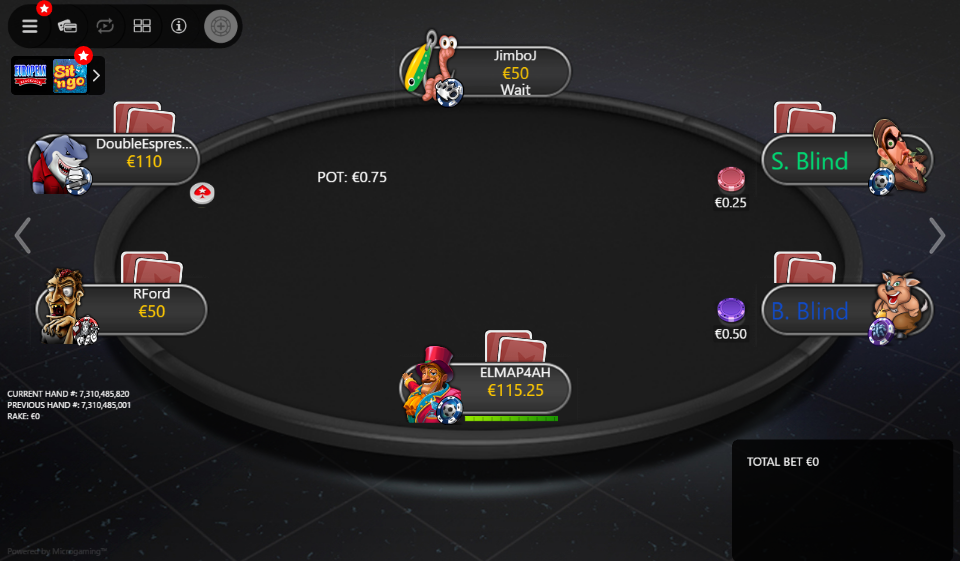 PokerStars Clone Mercury for MPN Prima 01