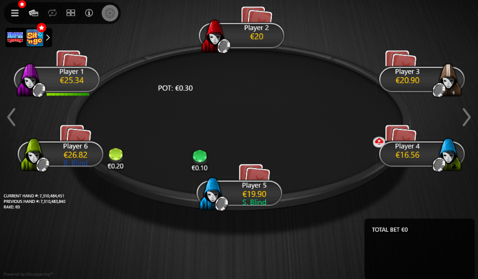 PokerStars Clone Mercury for MPN Prima 05 Anon