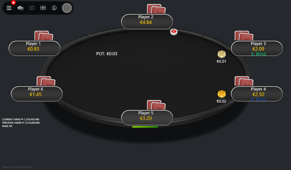 PokerStars Clone Mercury for MPN Prima 06 Stealth Mode