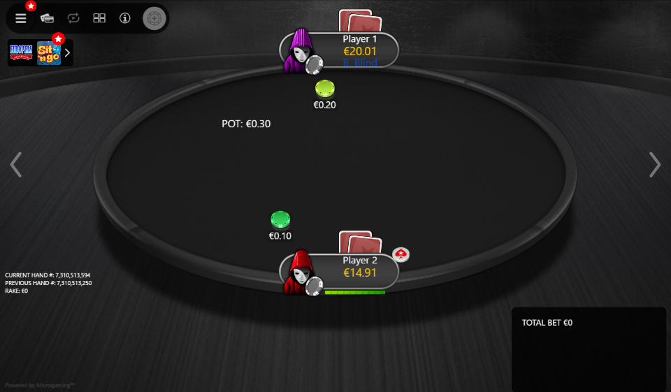 PokerStars Clone Mercury for MPN Prima 07 Anon HU