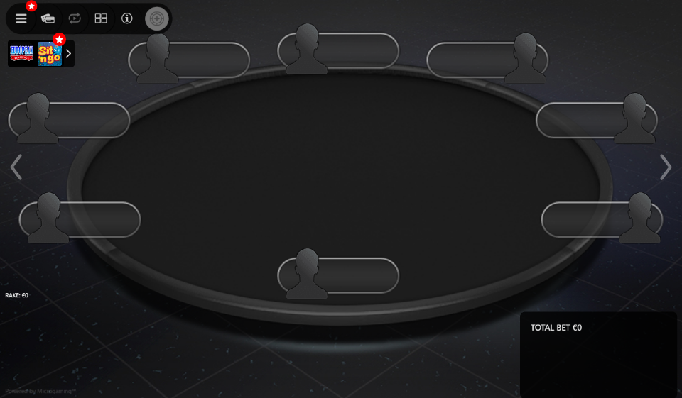 PokerStars Clone Mercury for MPN Prima 08 Full Ring